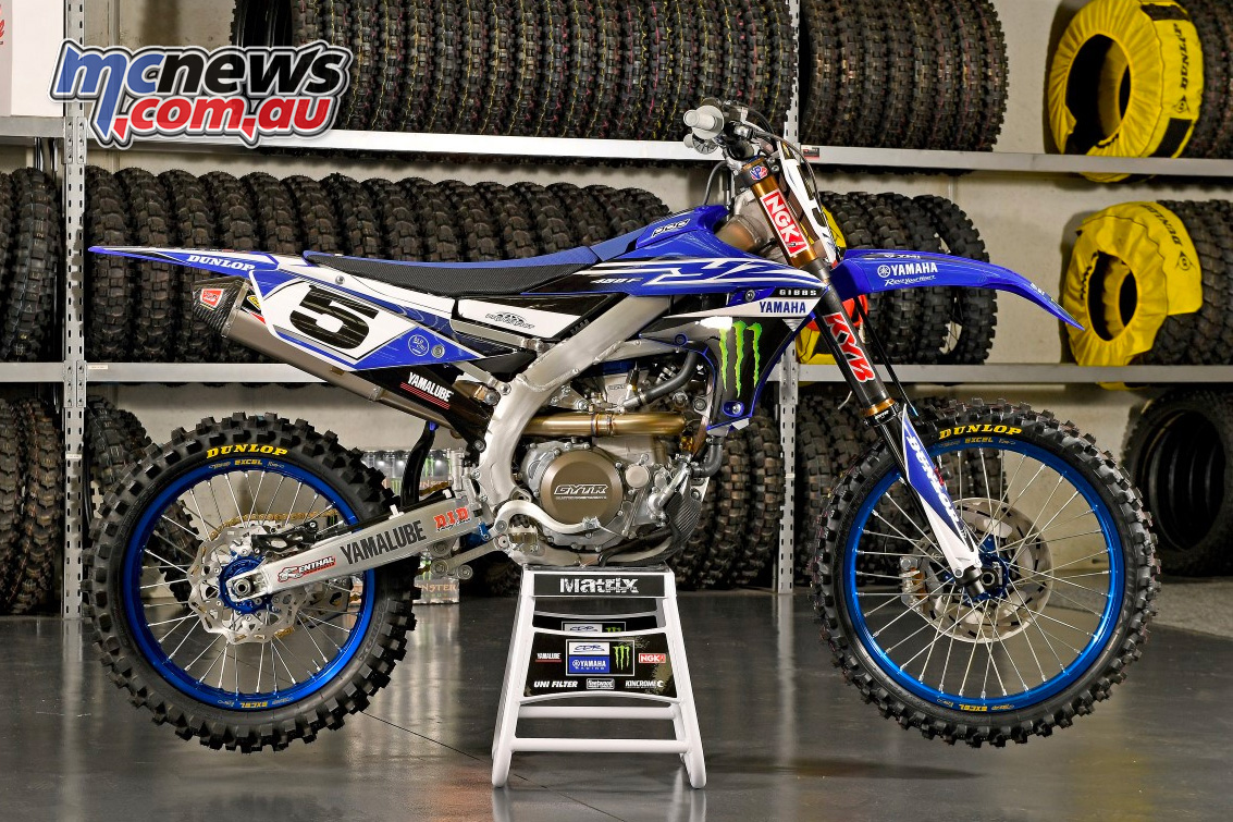 Kirk Gibbs' 2019 CDR Monster Energy YZ450F