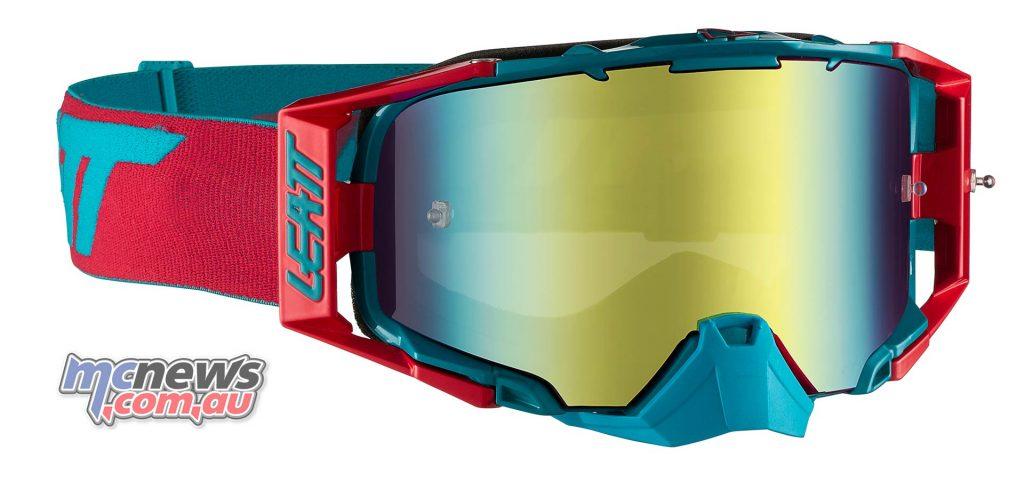 Leatt Goggles Iriz RedTeal MotoGPX