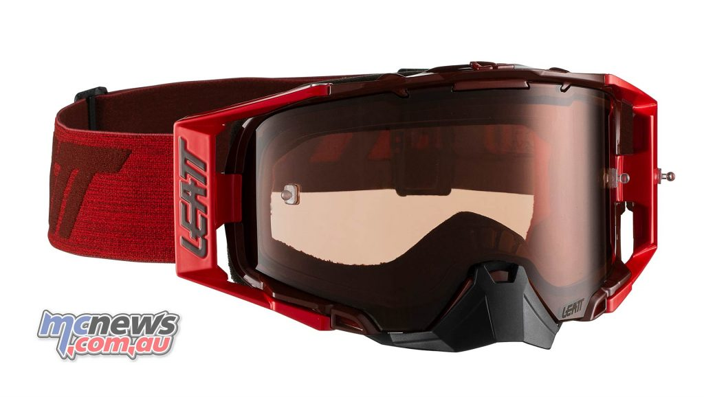 Leatt Goggles Velocity RubyRed MotoGPX