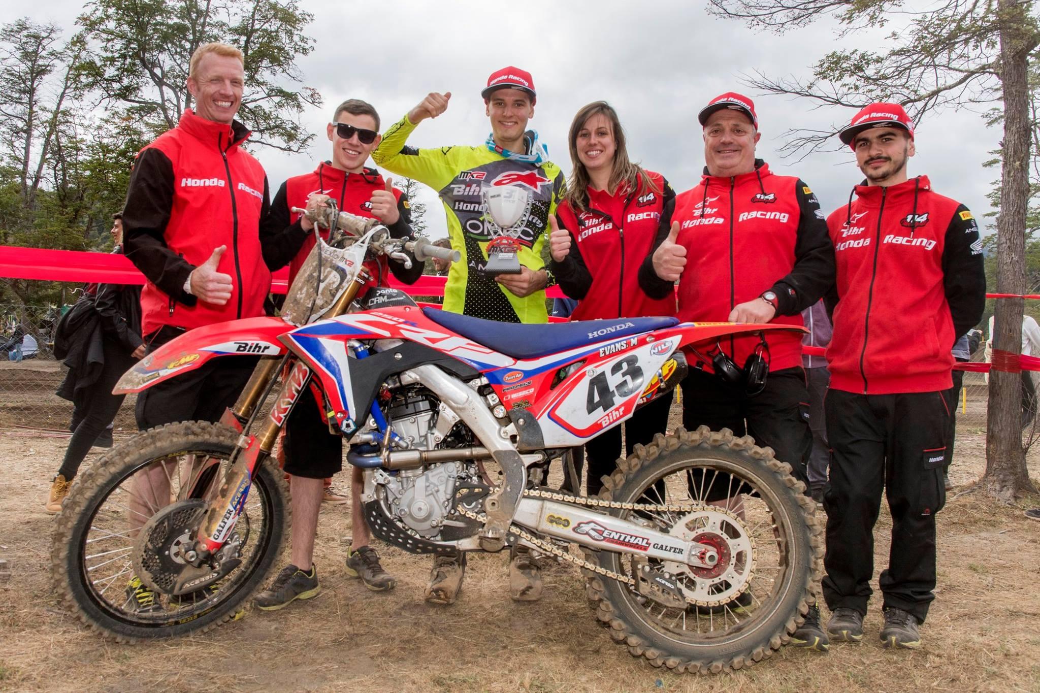 MXGP Rnd Patagonia Mitch Evans CreditTeamMotorsportsFacebook