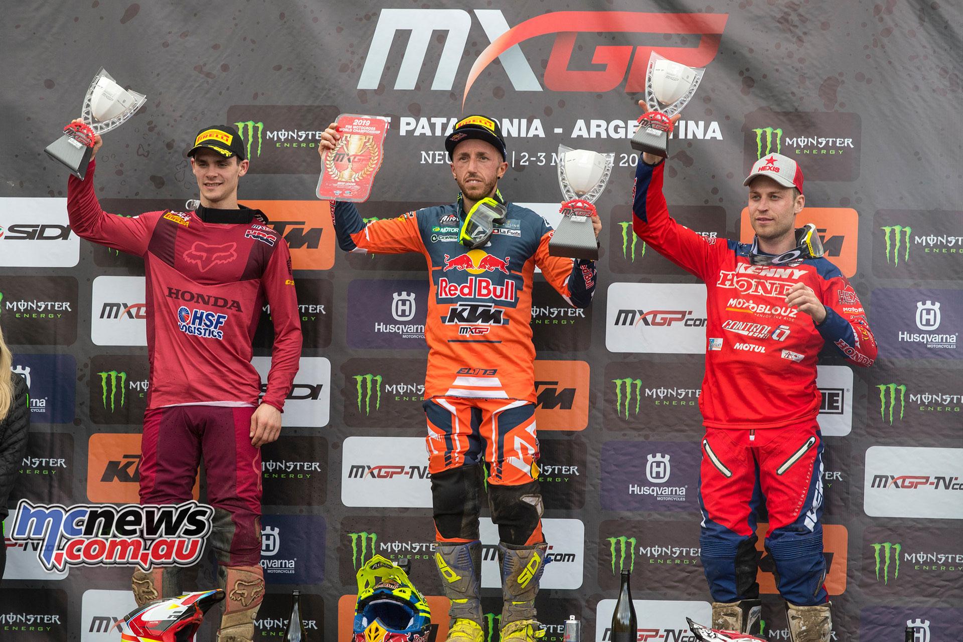 MXGP Rnd Patagonia RA MXGP Podium