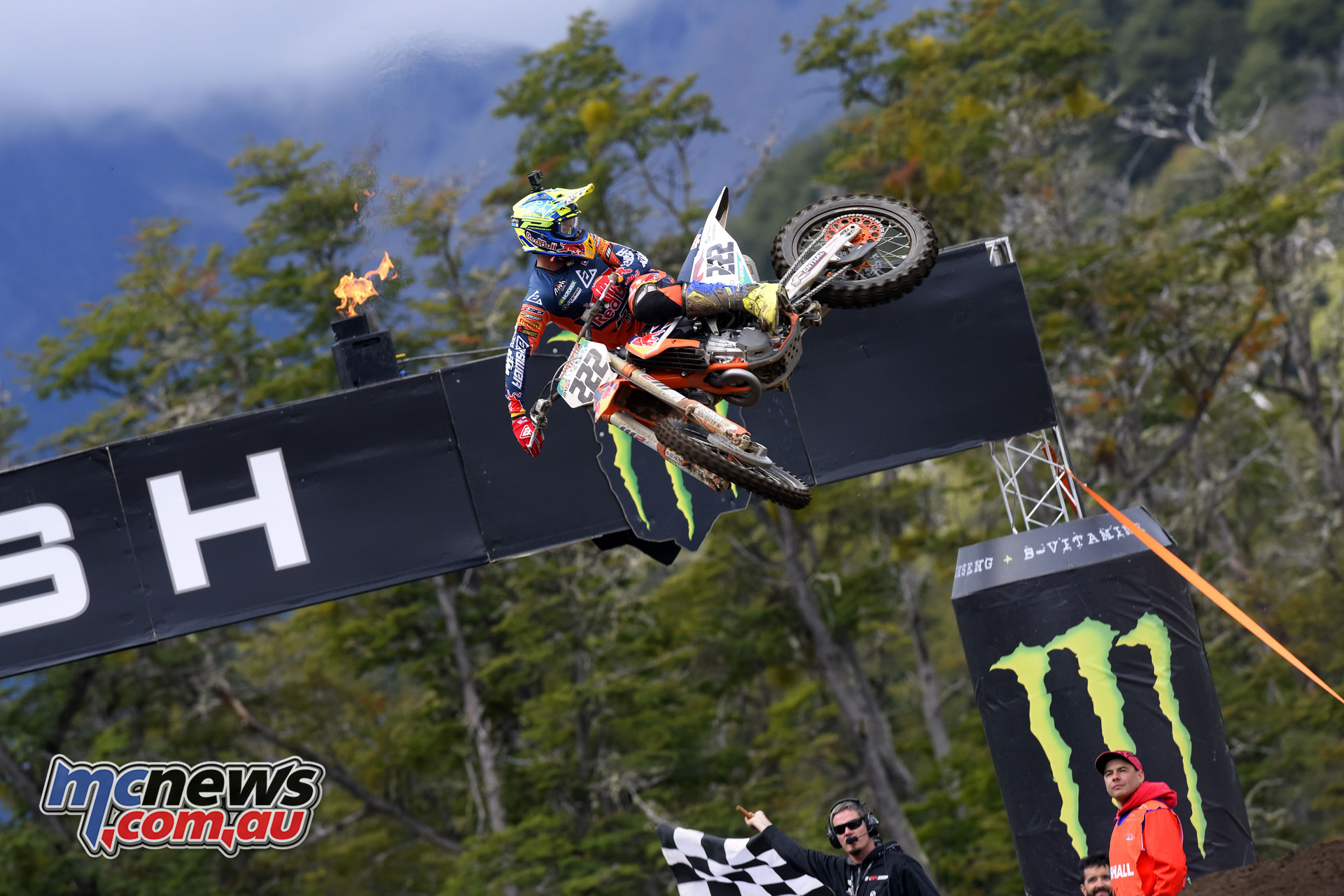 MXGP Rnd Patagonia antonio cairoli on the finish line