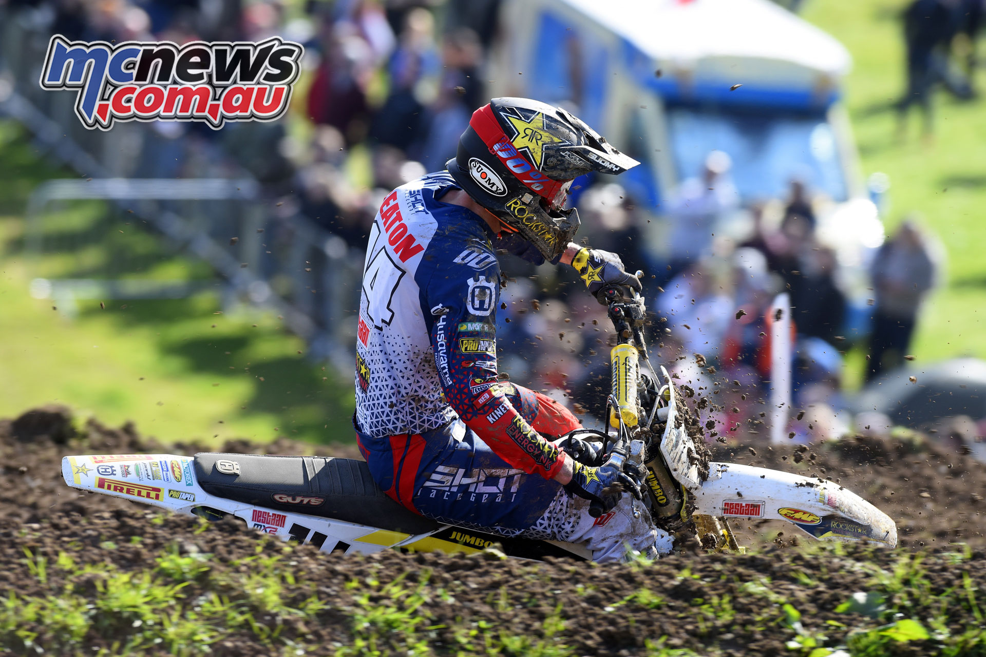 MXGP Rnd Britain Jed beaton action