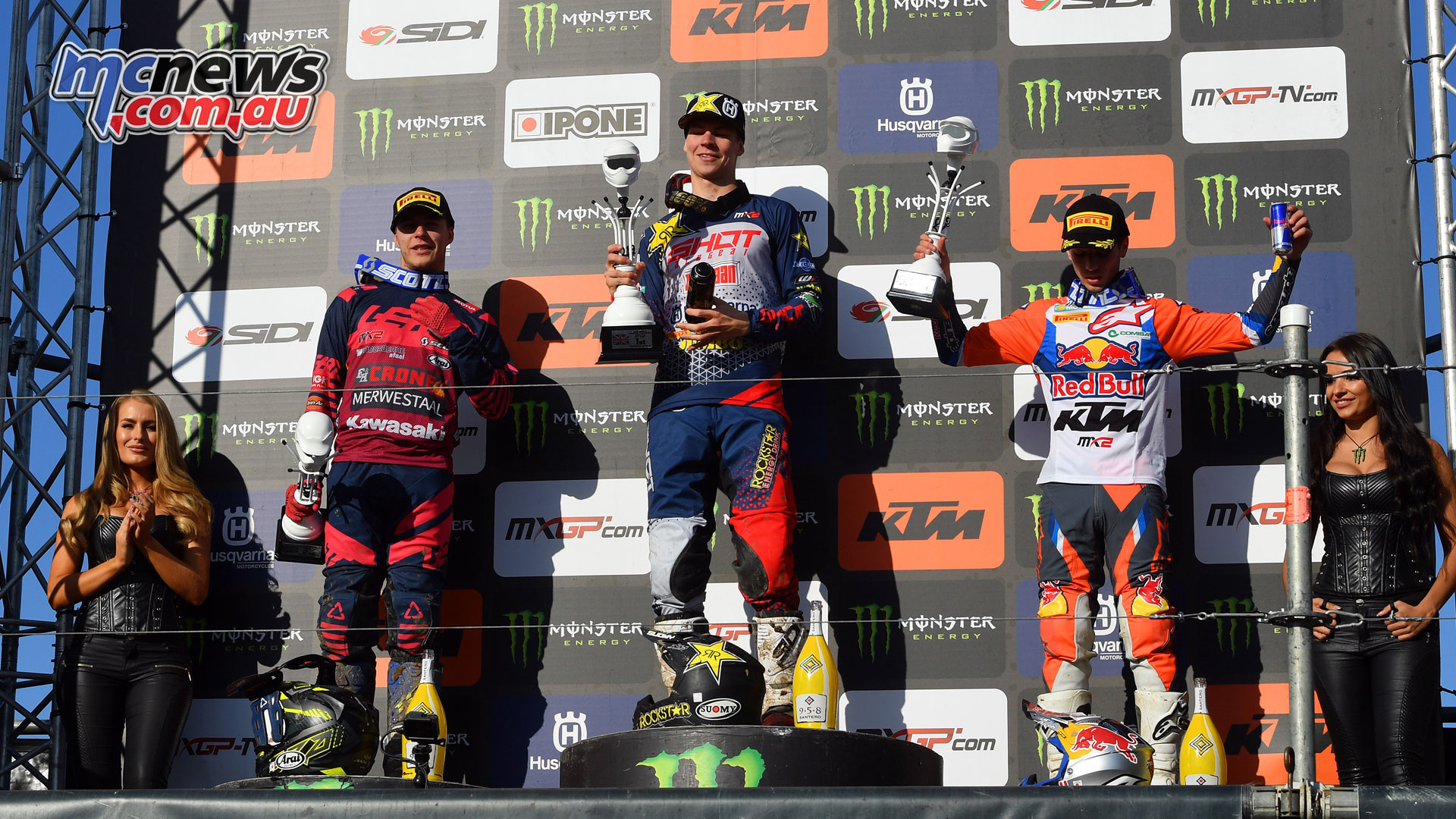 MXGP Rnd Britain mx olsen podium