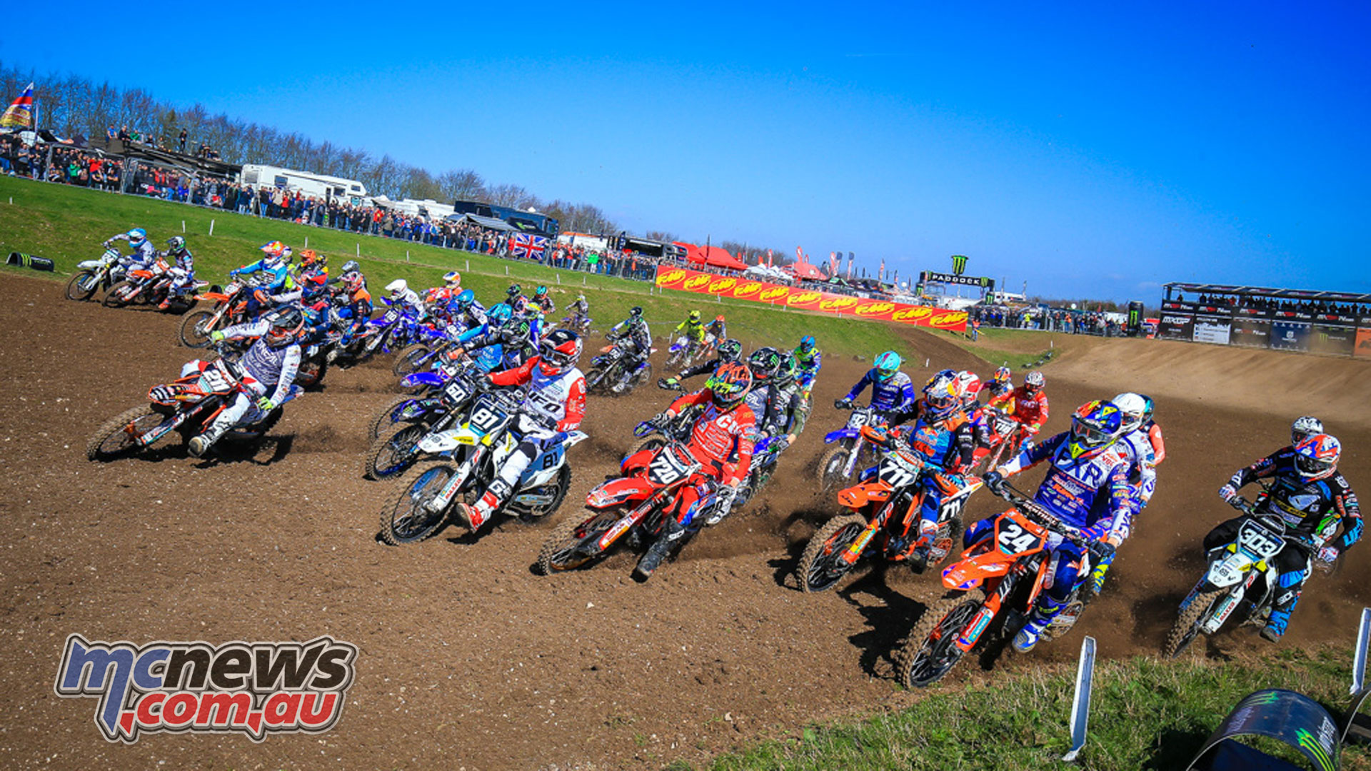 MXGP UK EMX action at Matterley Basin