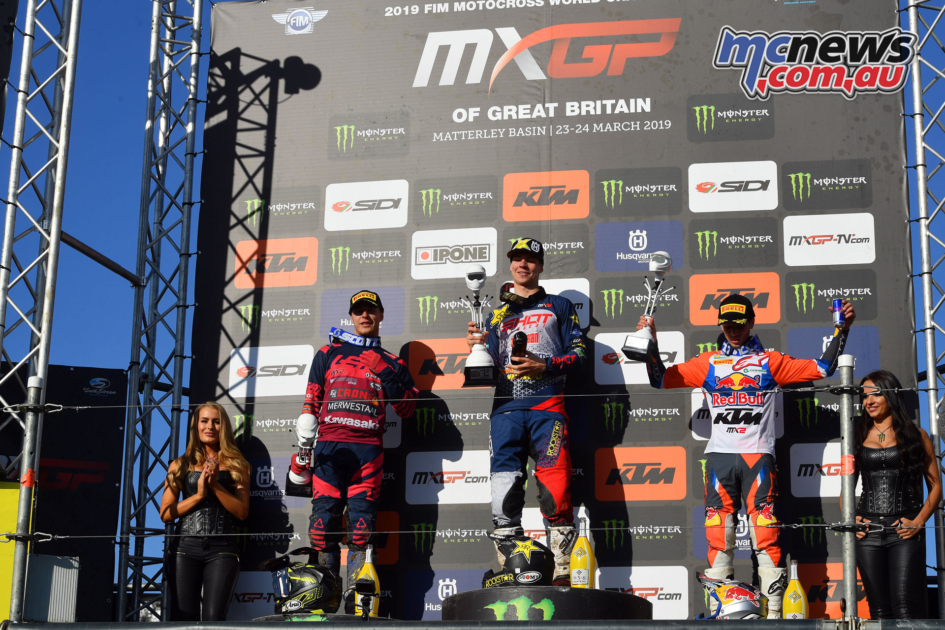 MXGP UK olsen podium