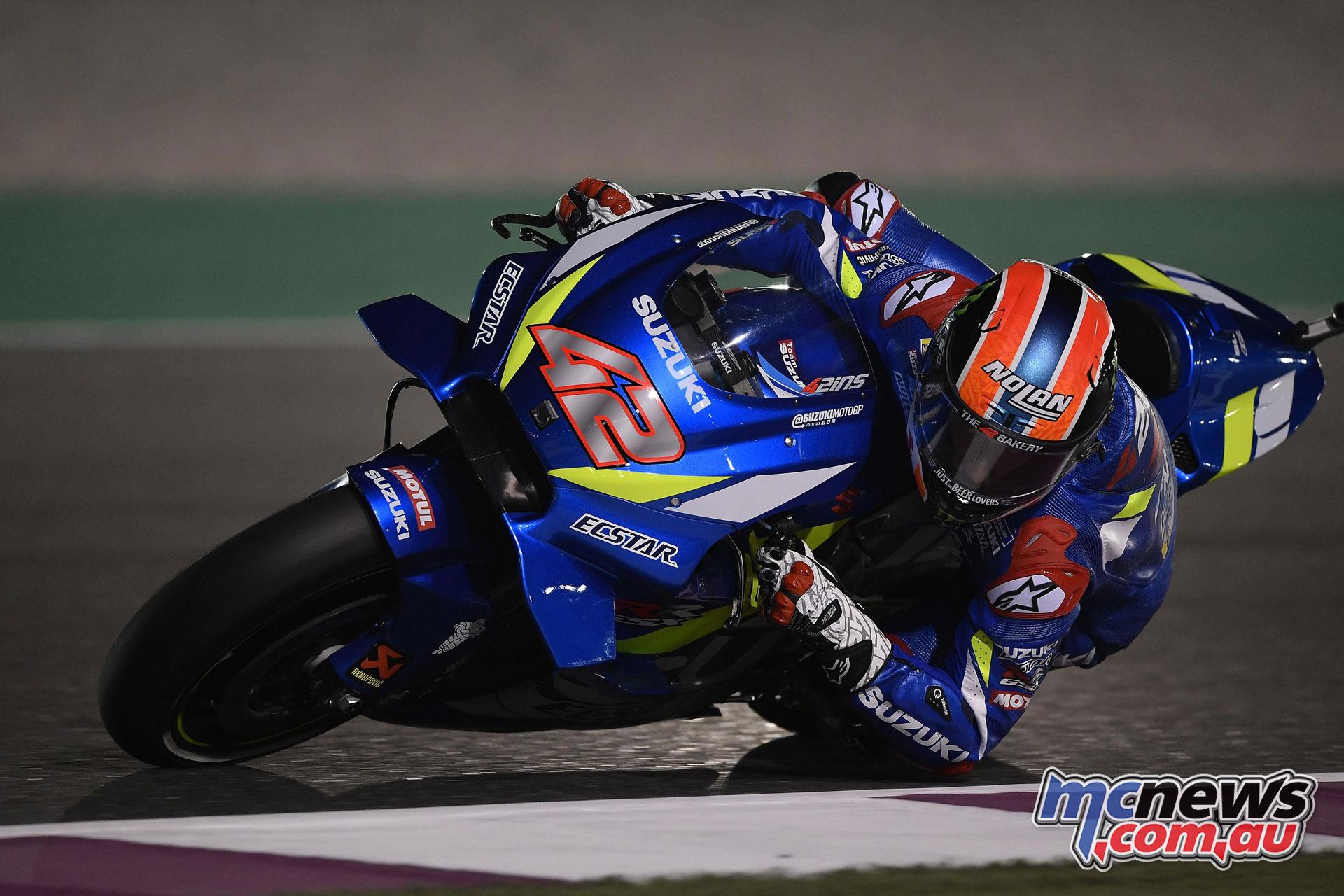 MotoGP Qatar Rnd Alex Rins