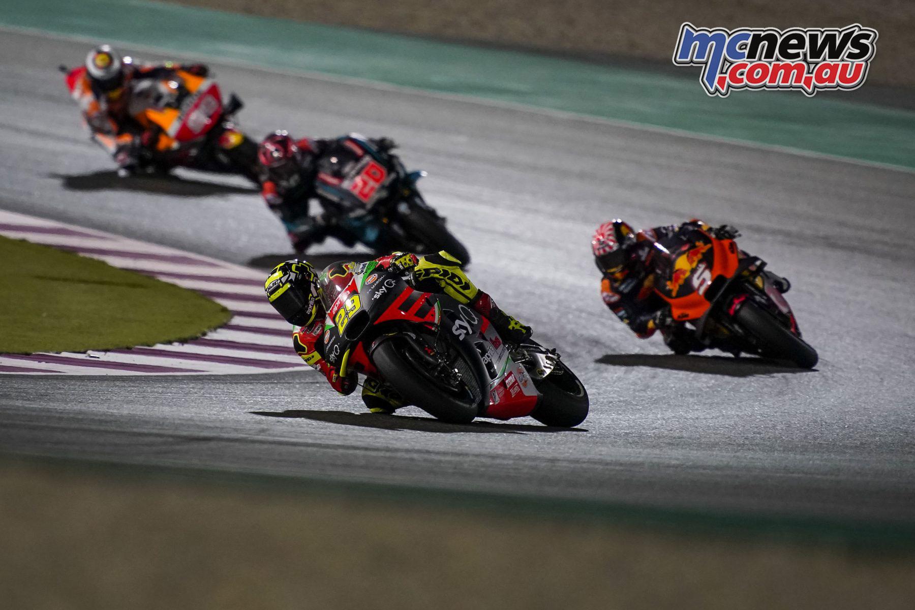 MotoGP Qatar Rnd Andrea Iannone