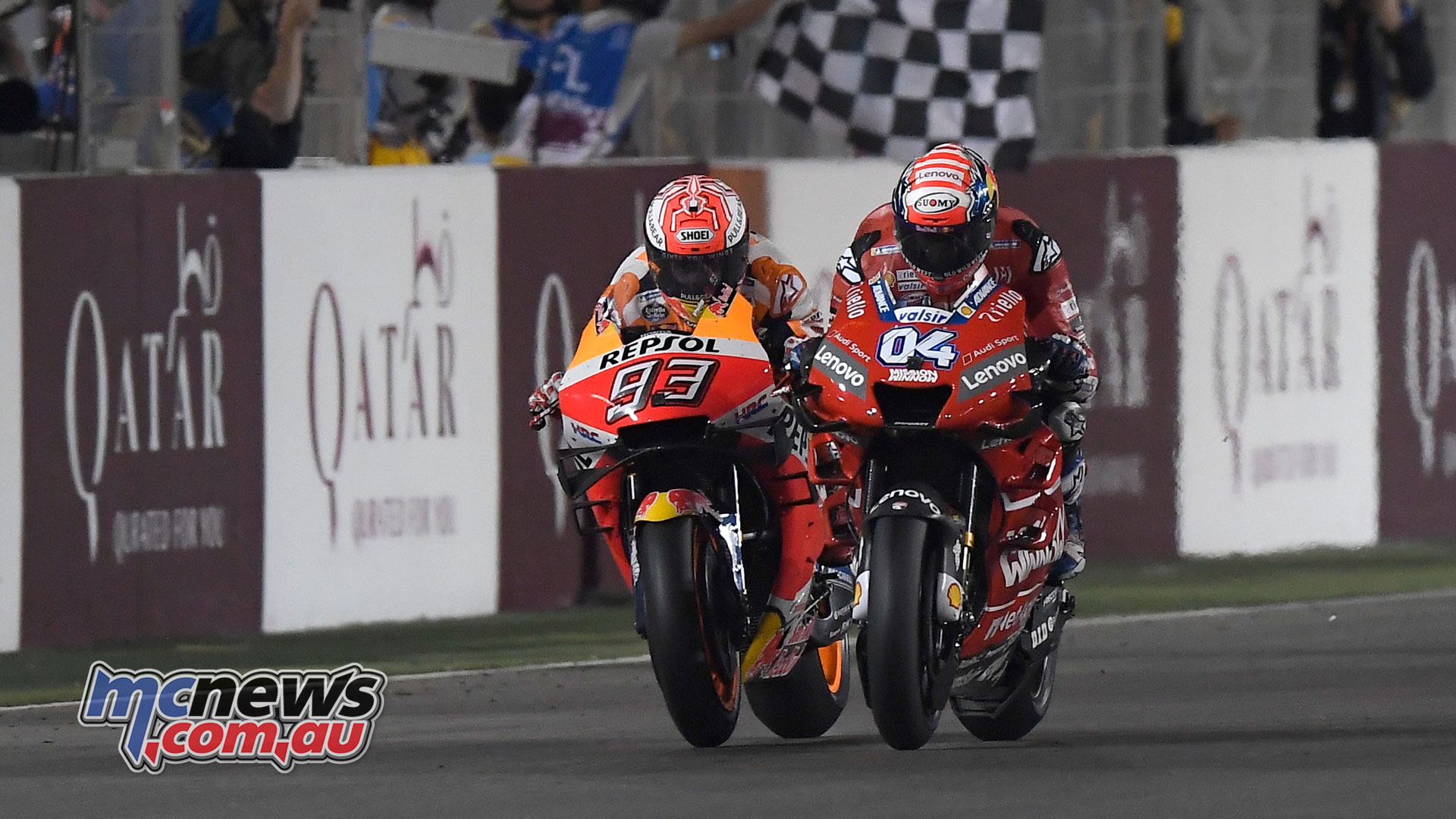 Dovizioso claims opening 2019 MotoGP win at Qatar   MCNews.com.au