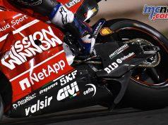 MotoGP Qatar Rnd Dovizioso swingarm