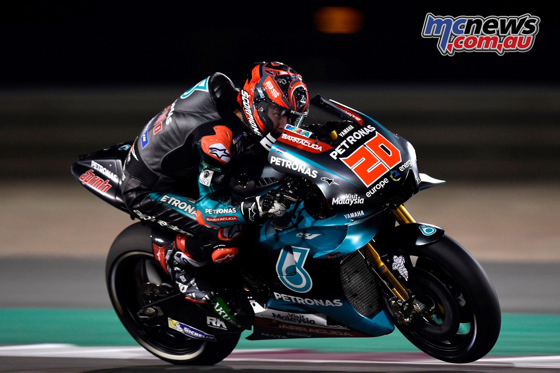 MotoGP Qatar Rnd Fabio Quartararo