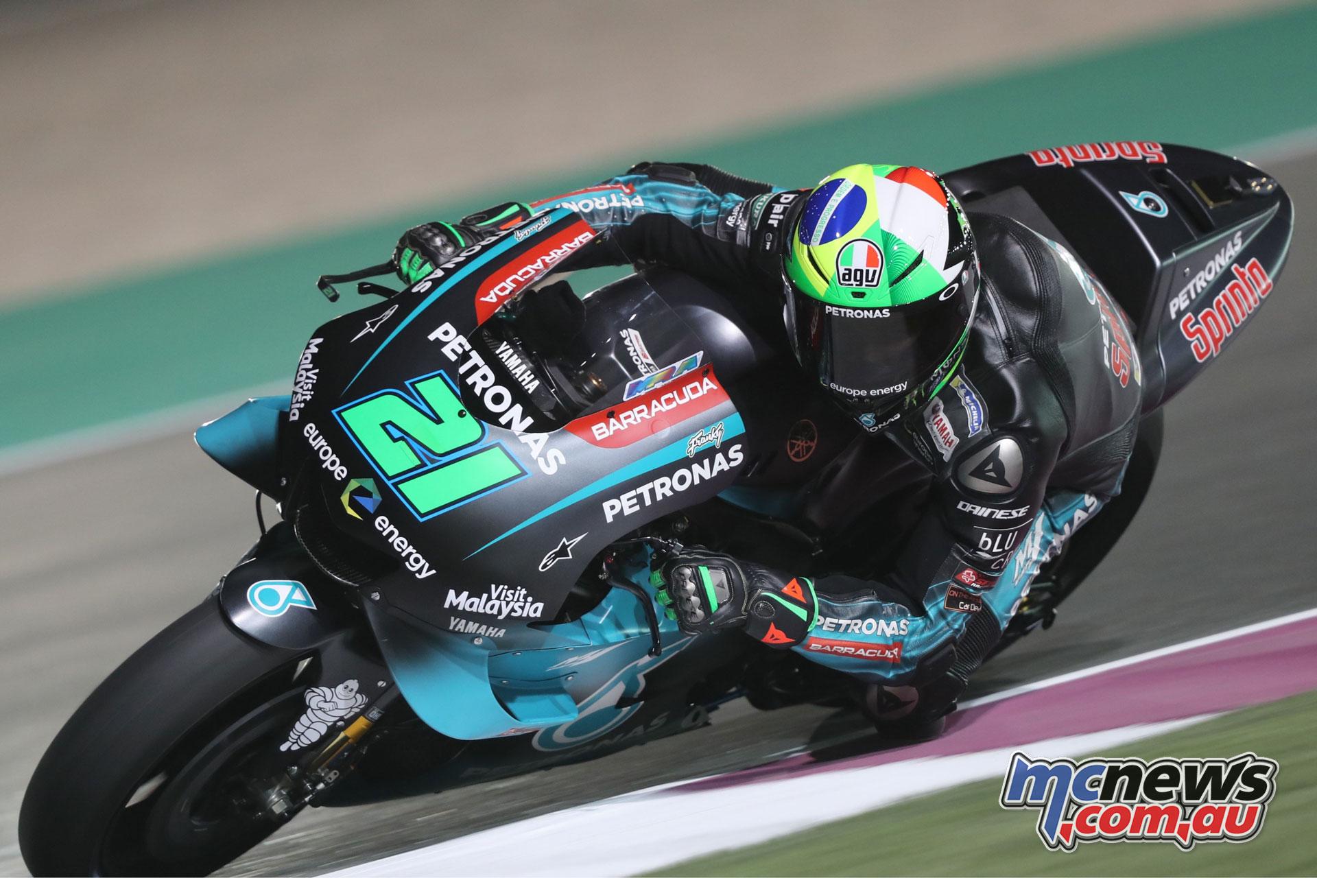 MotoGP Qatar Rnd Franco Morbidelli