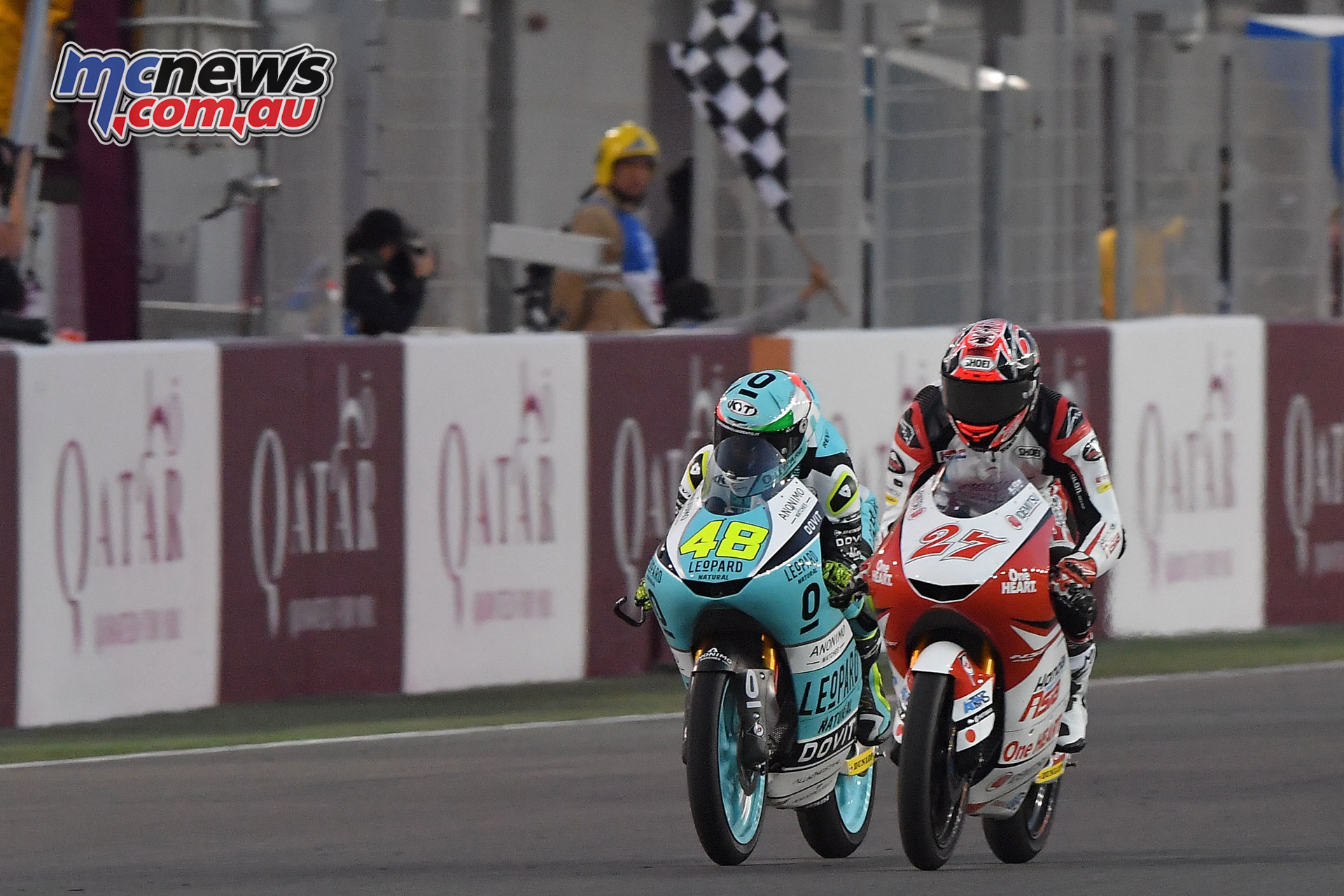 MotoGP Qatar Rnd Kaito Toba