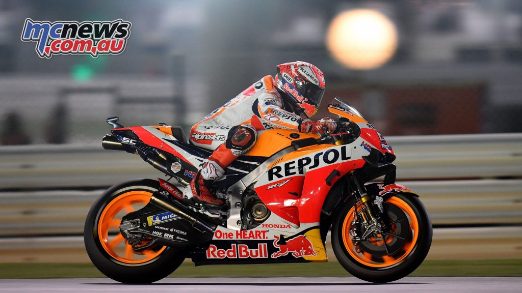 MotoGP Qatar Rnd Marquez