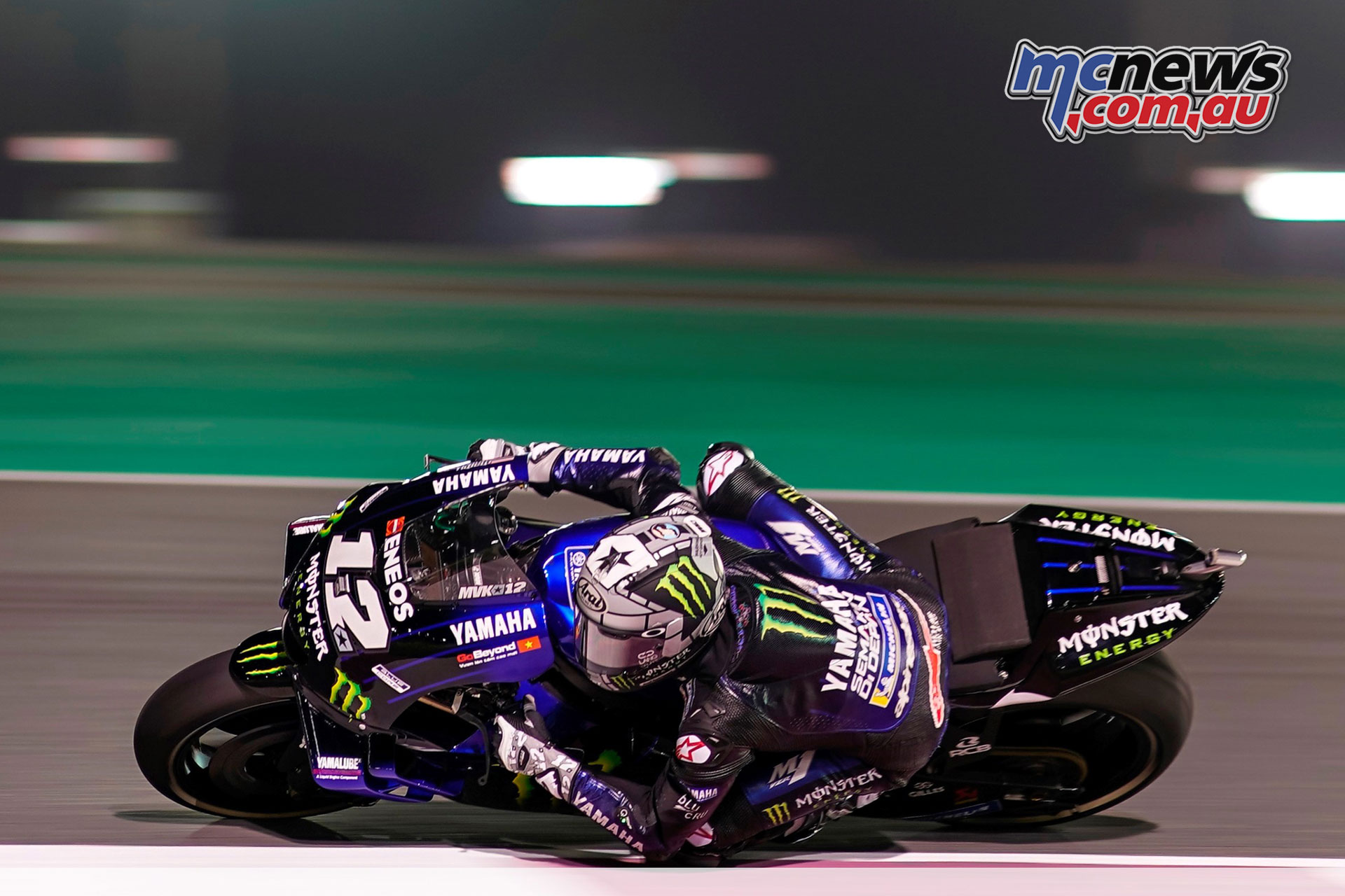 MotoGP Qatar Rnd Maverick Vinales