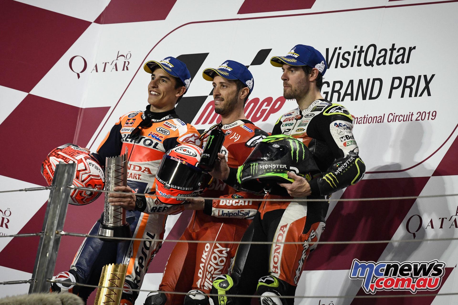 MotoGP Qatar Rnd MotoGP Podium
