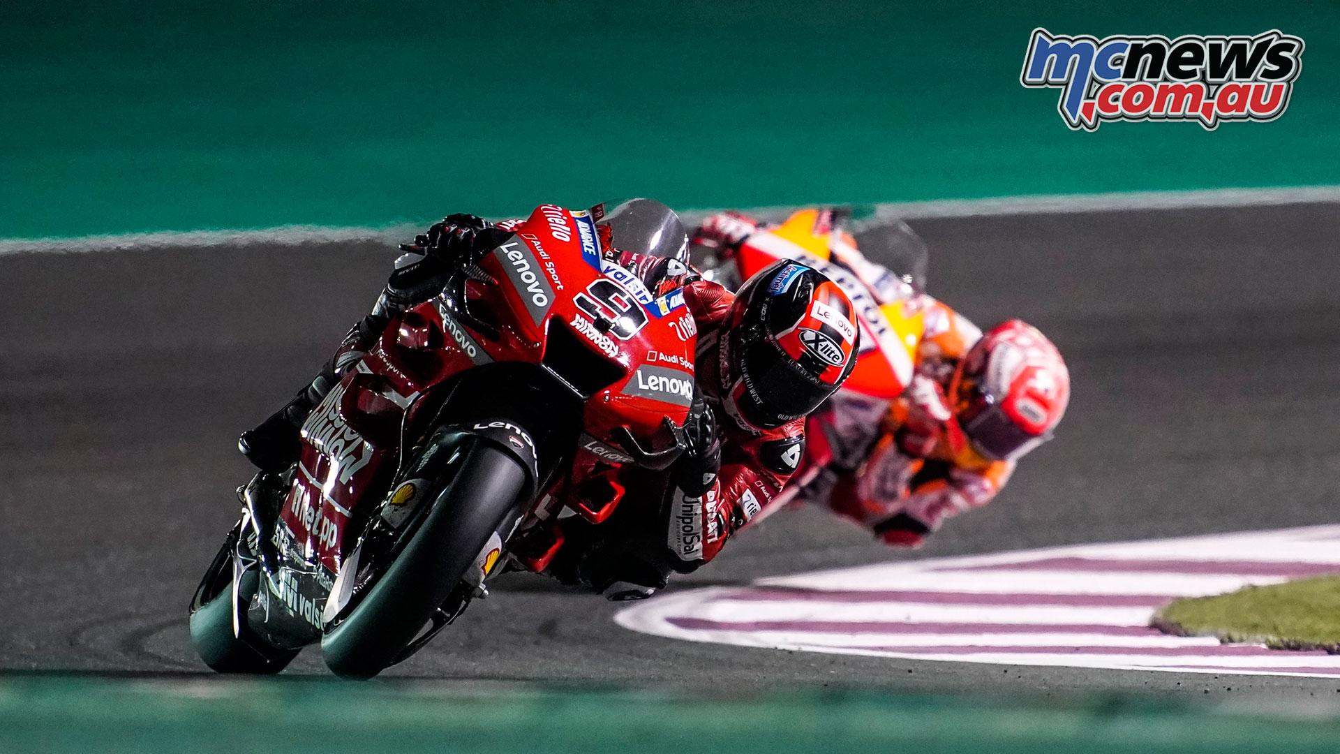 MotoGP Qatar Rnd Petrucci