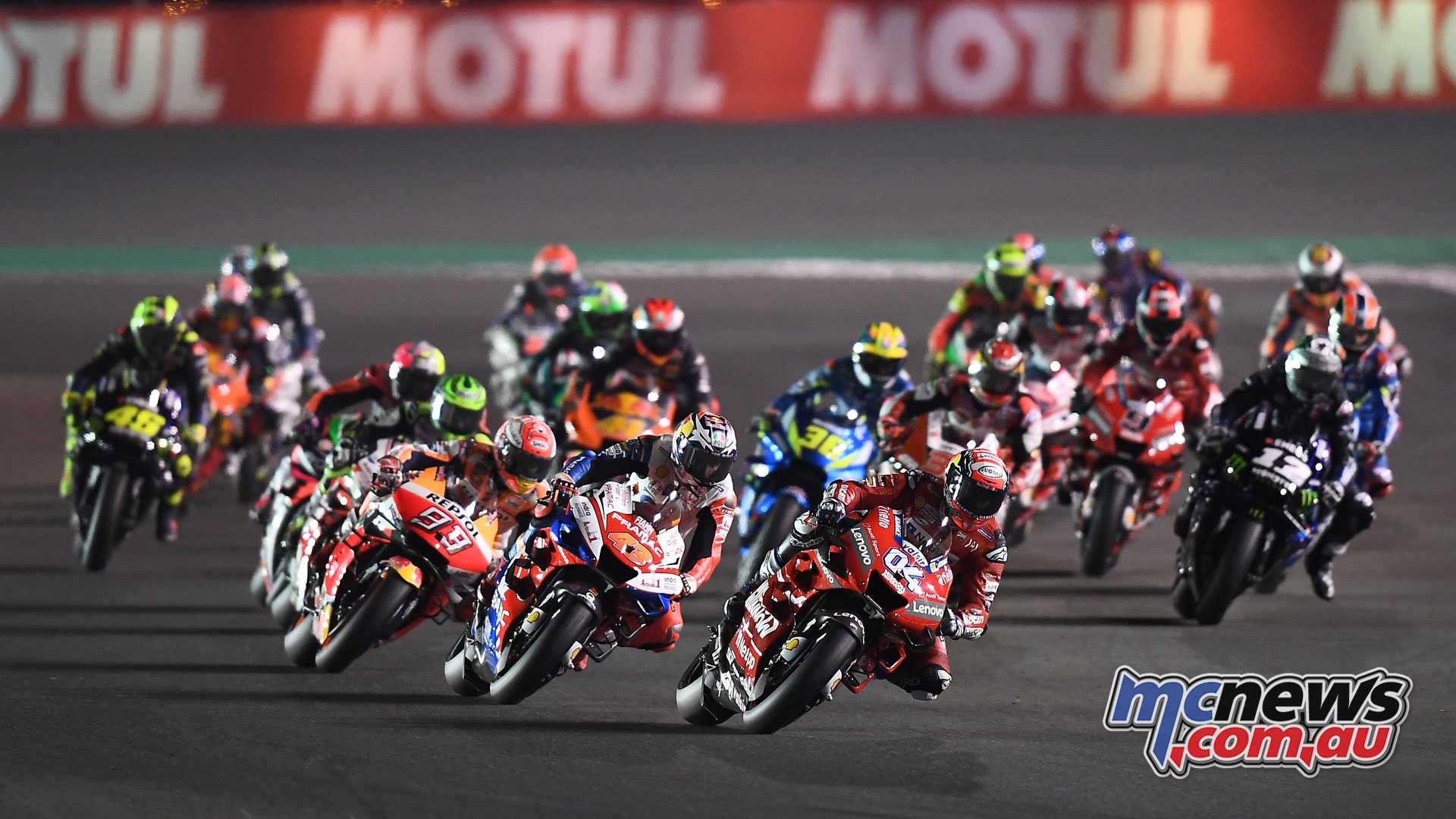 MotoGP Qatar Rnd Start