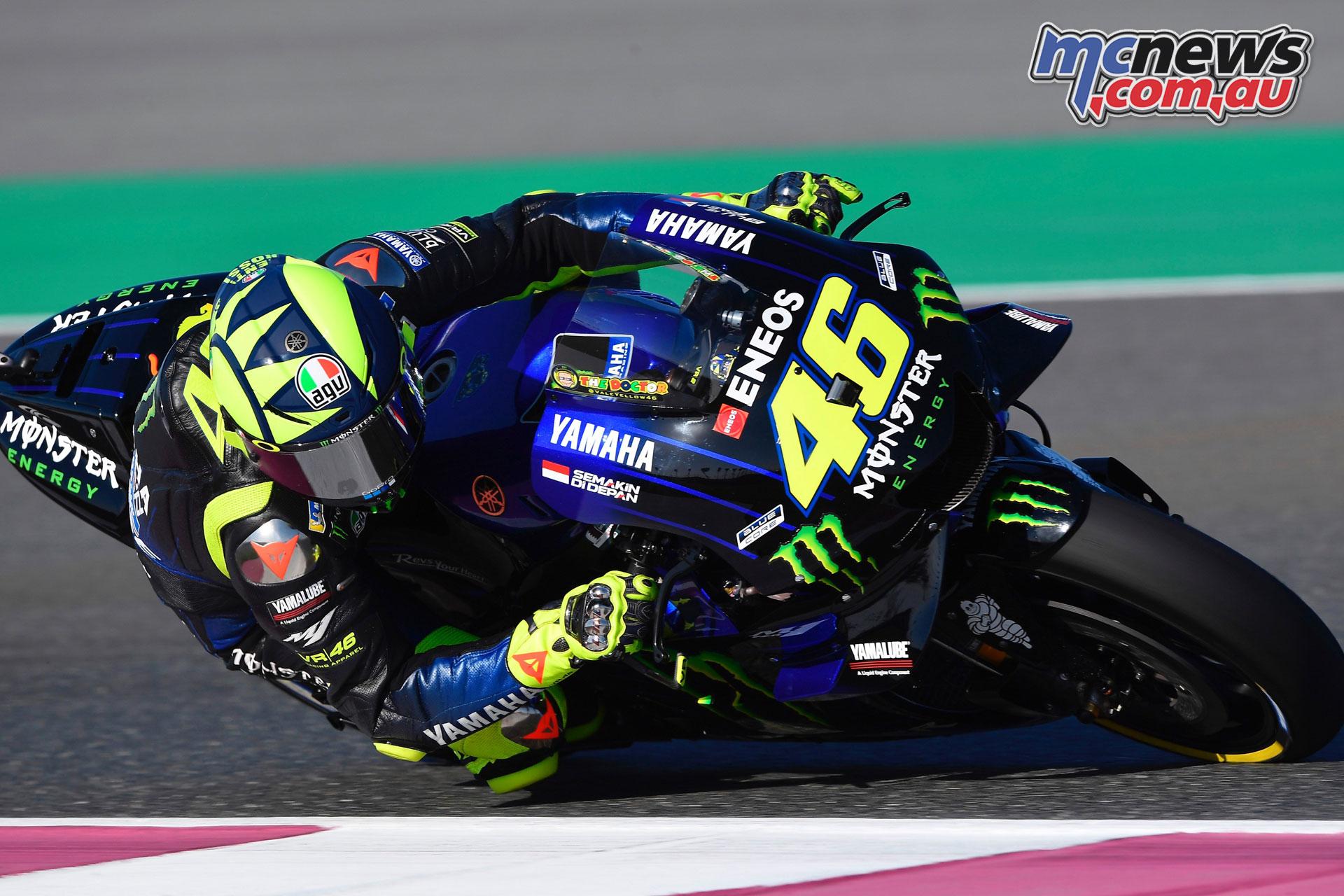 MotoGP Qatar Rnd Valentino Rossi
