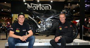 Norton UKbikeSHow John McGuinness