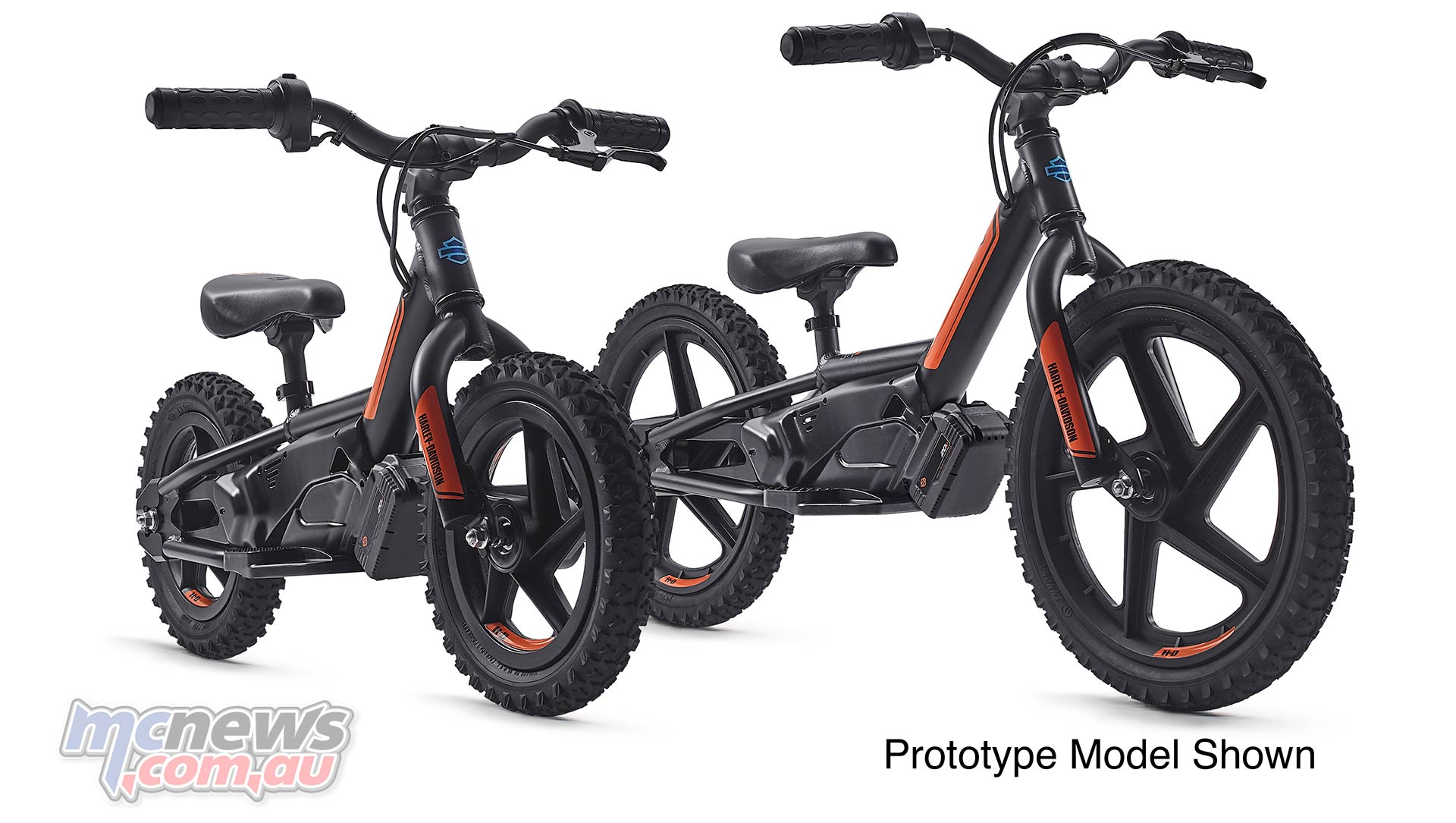 Harley aim to get 'em young with electric kids bikes