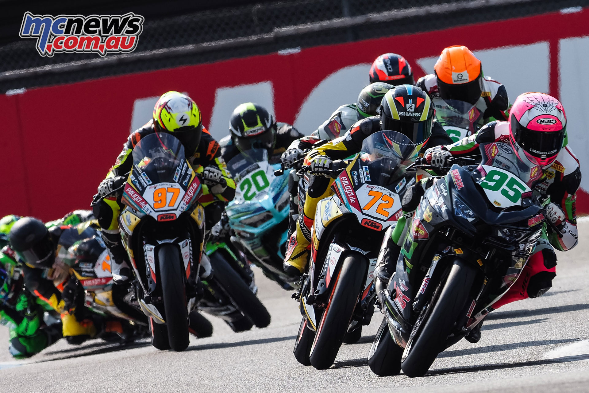 WorldSBK NED WorldSSP Sunday Race Action Deroue
