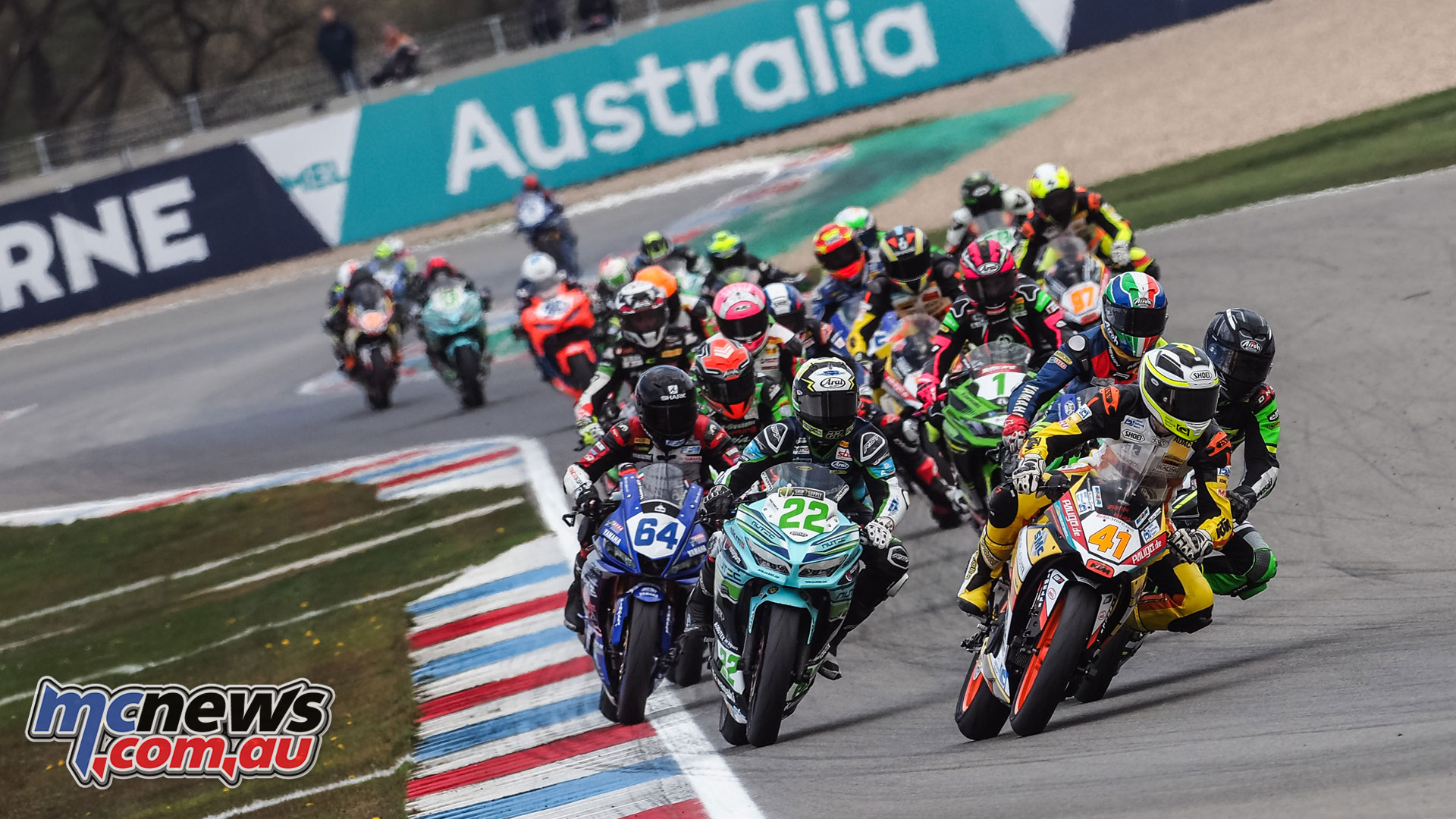 WorldSBK NED WorldSSP Sunday Race Action Jahnig