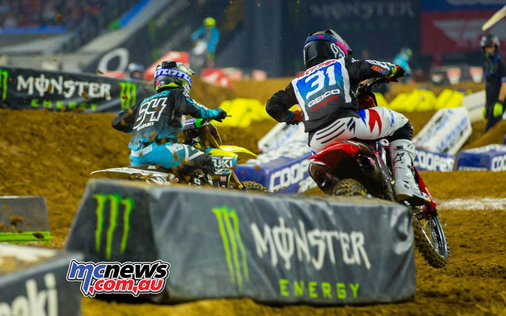 AMA SX Rnd Hampshire Decotis Multiple JK SX Houston