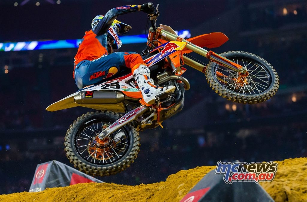 AMA SX Rnd Musquin JK SX Houston