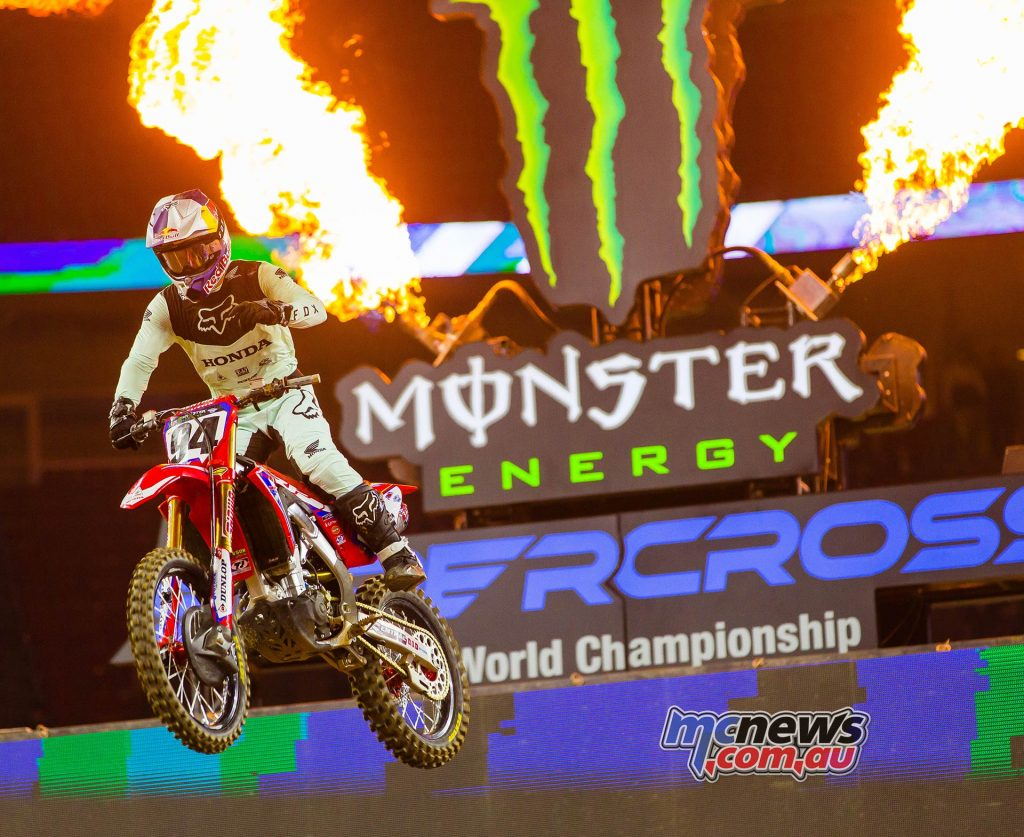 AMA SX Rnd Roczen JK SX Houston