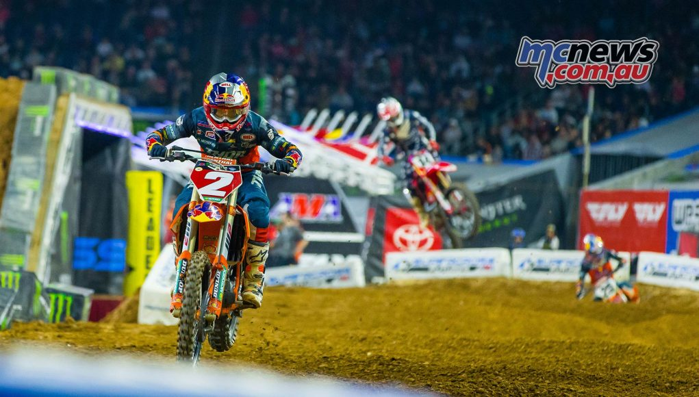 AMA SX Rnd Webb Seely Musquin JK SX Houston Report