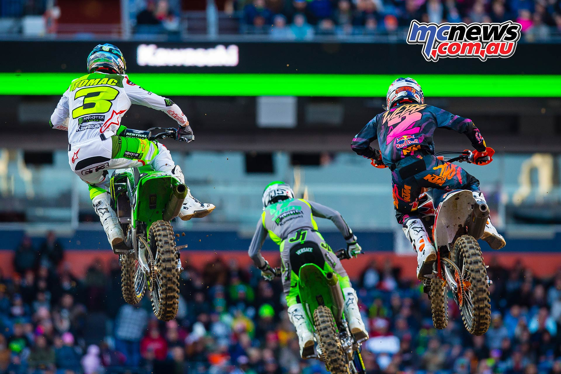 AMA SX Rnd Denver Tomac Savatgy Webb Multiple JK SX Denver