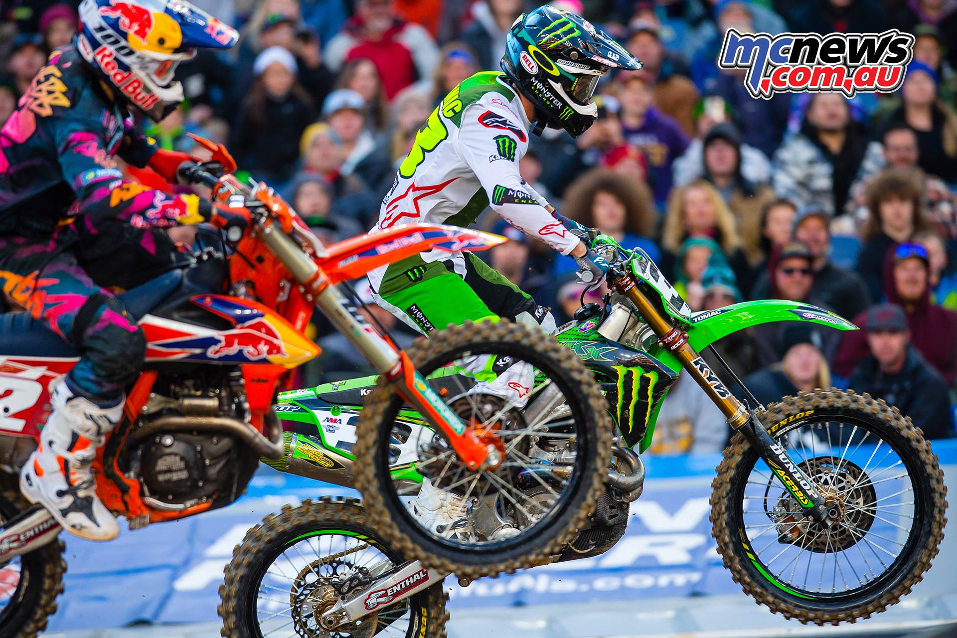 AMA SX Rnd Denver Tomac Webb Multiple JK SX Denver