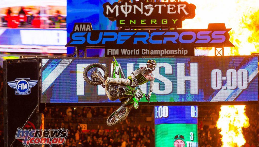 AMA SX Rnd Denver Tomac JK SX Denver Report