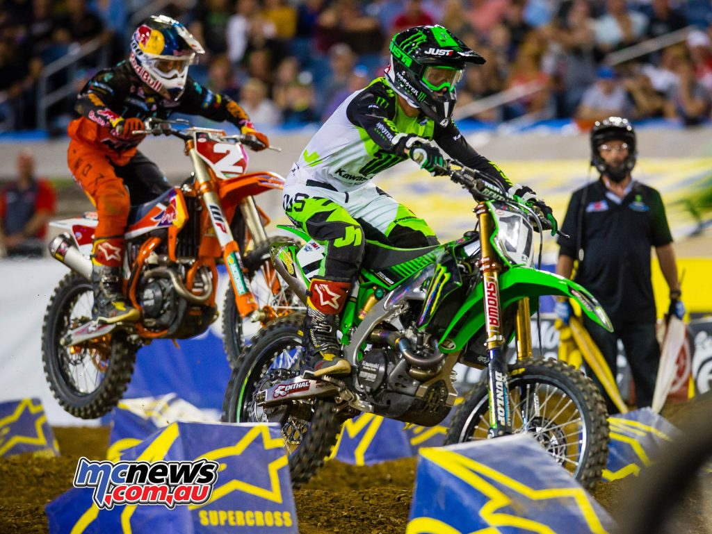 AMA Supercross Rnd Savatgy Webb Multiple JK SX Nashville