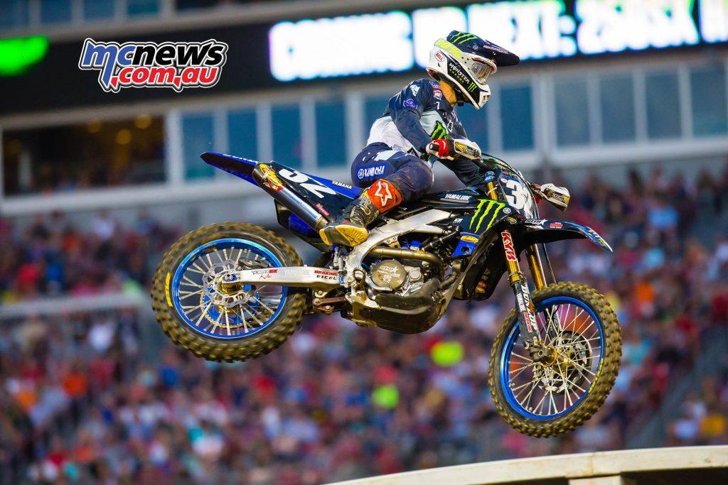 AMA Supercross Rnd Cooper JK SX Nashville