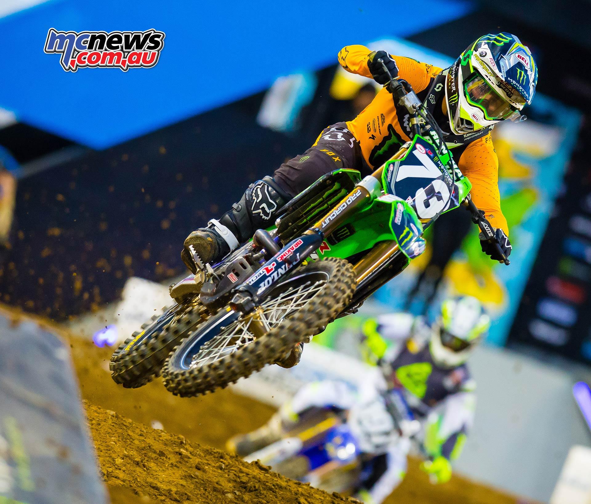 AMA Supercross Rnd Davalos JK SX Nashville