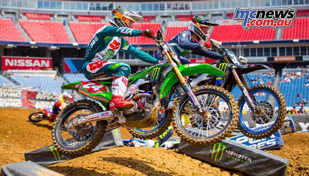 AMA Supercross Rnd Forkner JK SX Nashville