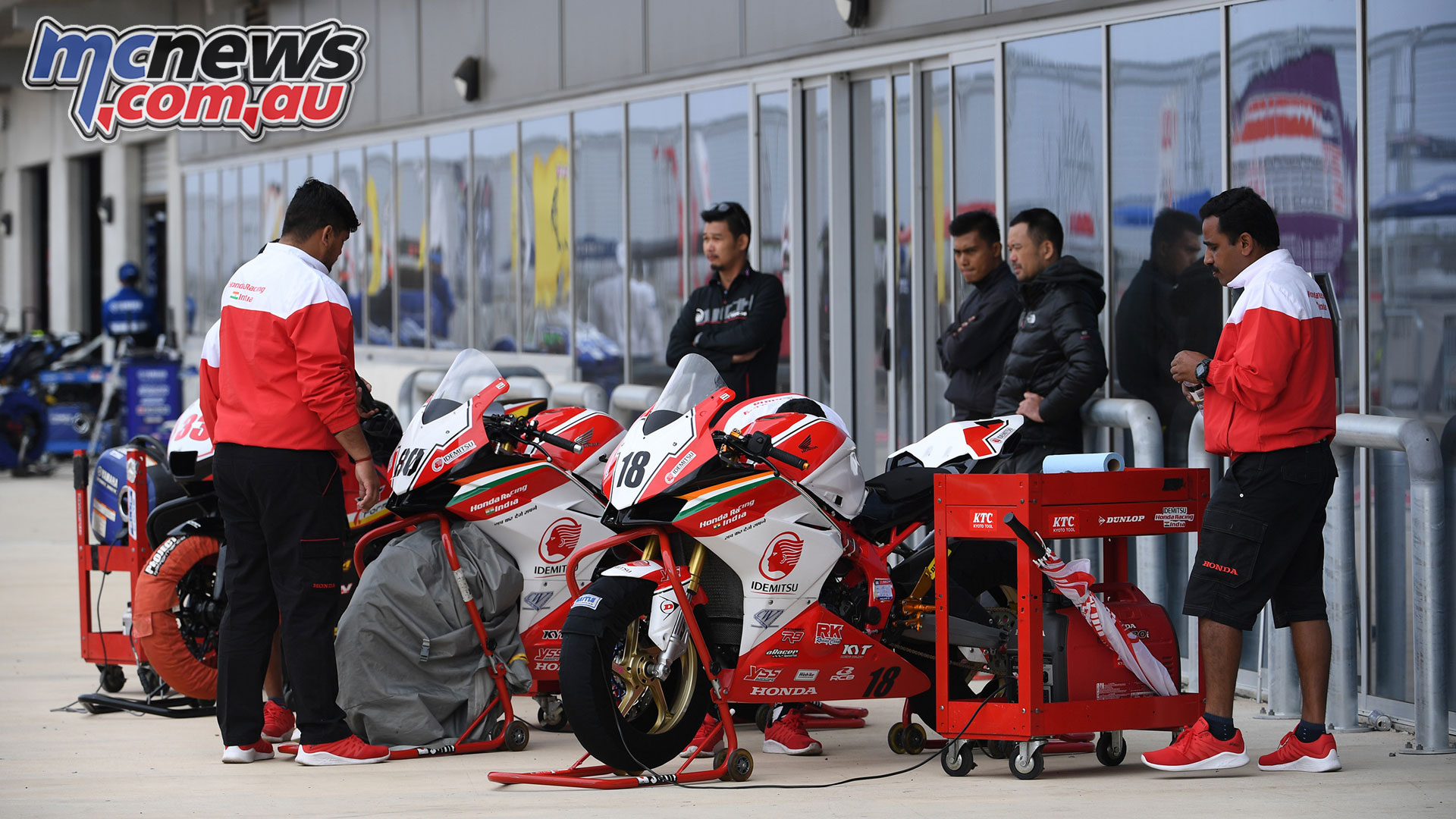 ARRC Rnd Tailem Bend Honda Racing India