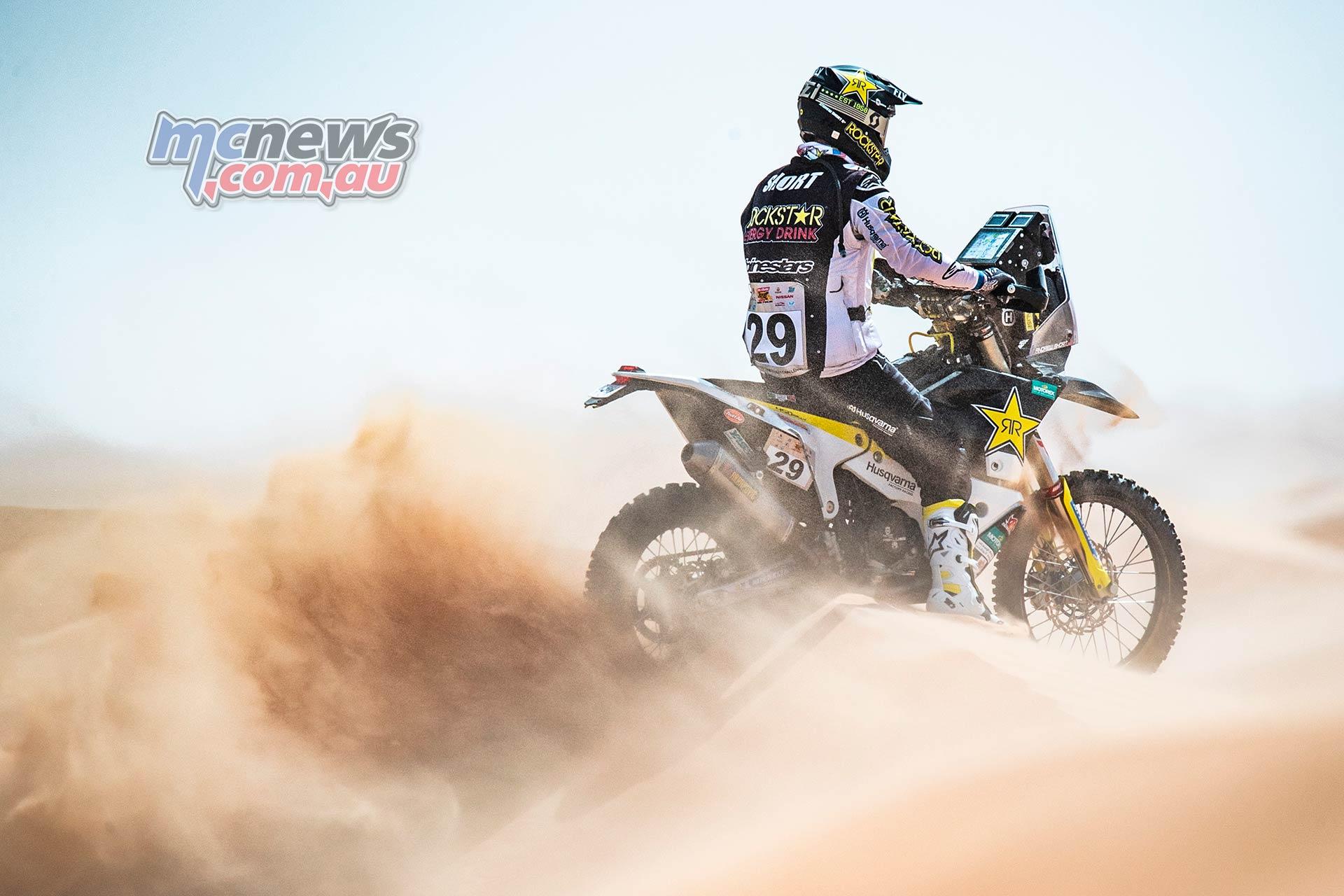 Abu Dhabi Desert Challenge Andrew Short