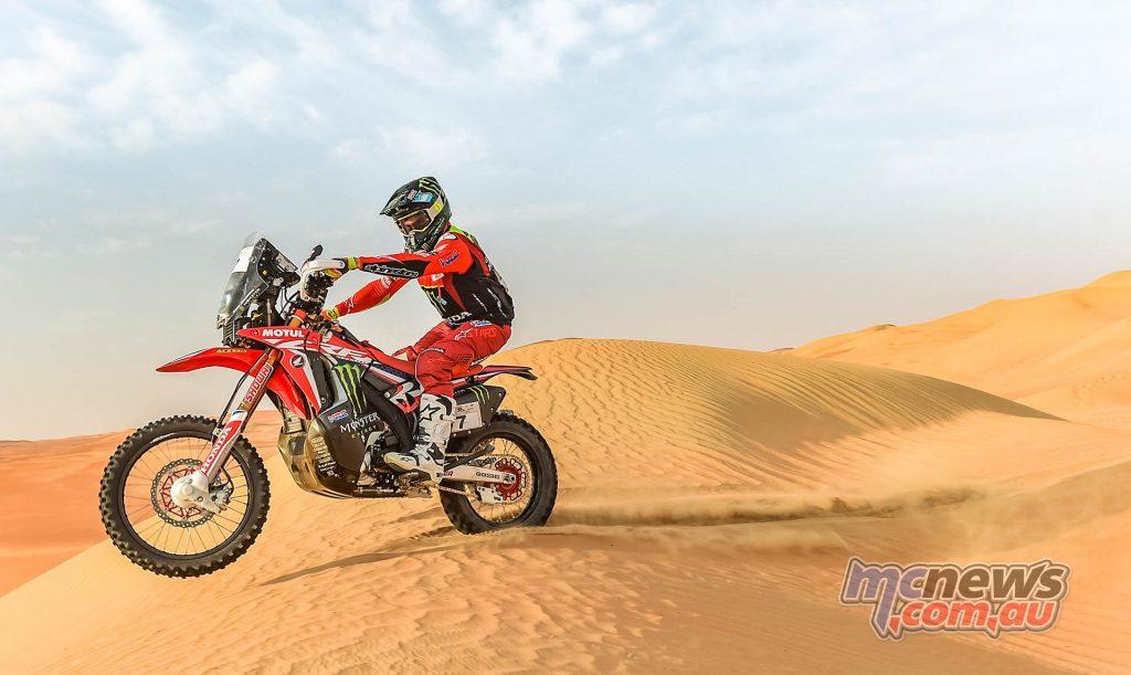 Abu Dhabi Desert Challenge Benavides