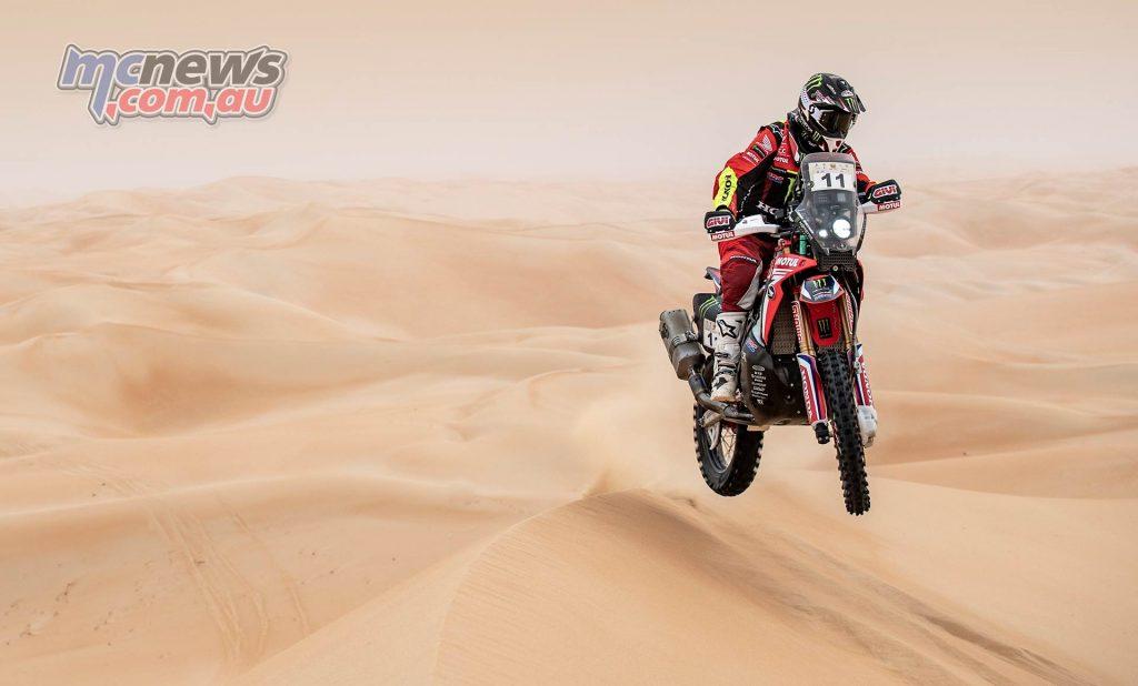 Abu Dhabi Desert Challenge Joan Barreda