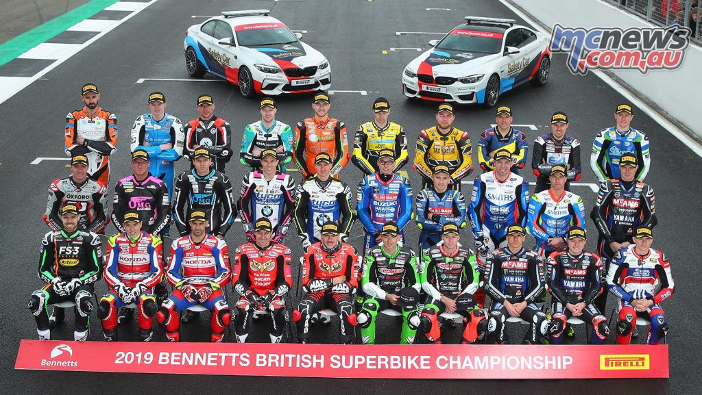 BSB Test Silverstone Riders