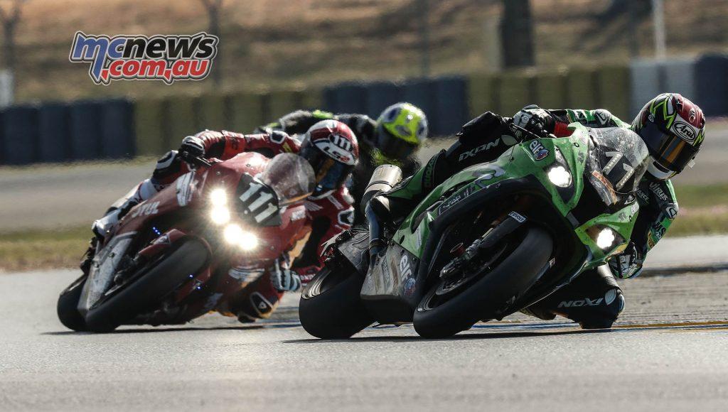 FIM EWC LeMans Hour SRC Kawasaki Honda Endurance Racing Team