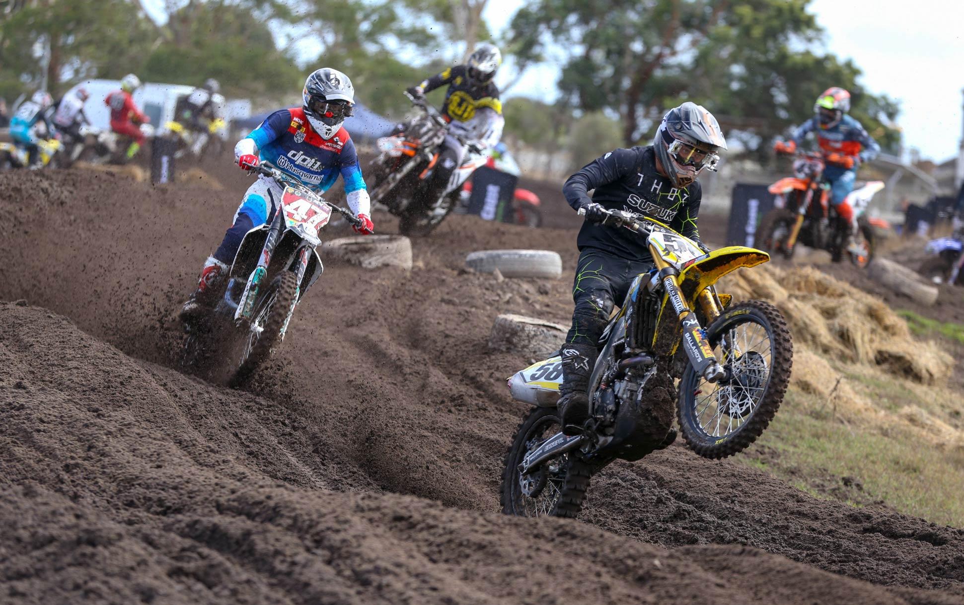 MX Nationals Rnd Wonthaggi MX Justin Rodbell Todd Waters
