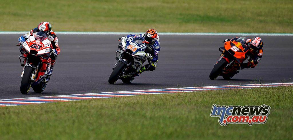 MotoGP Rnd Argentina Bagnaia Rabat Zarco