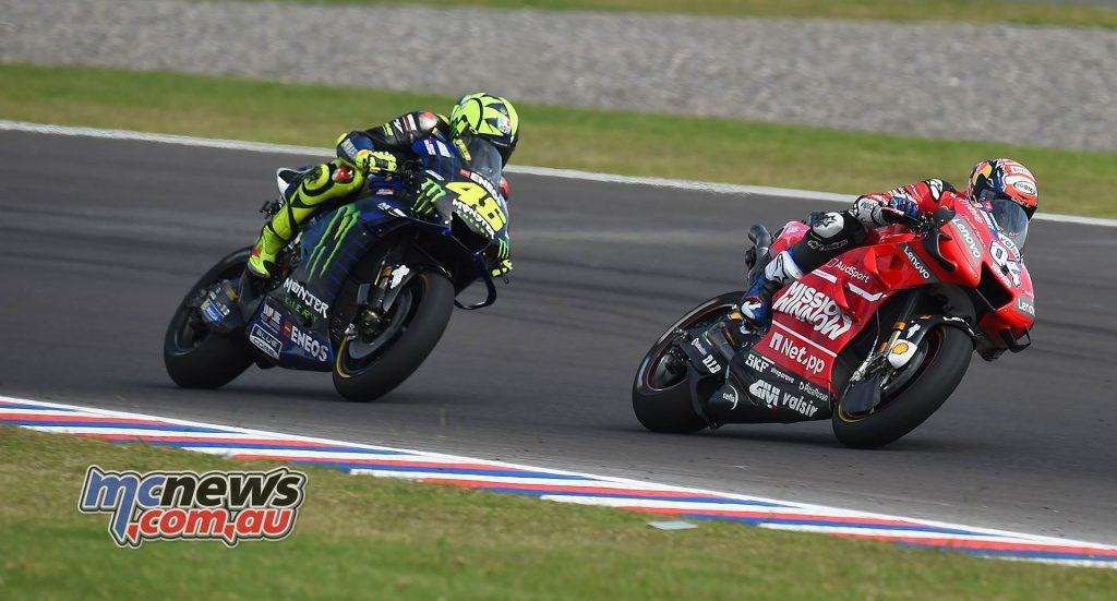 MotoGP Rnd Argentina Dovizioso Rossi