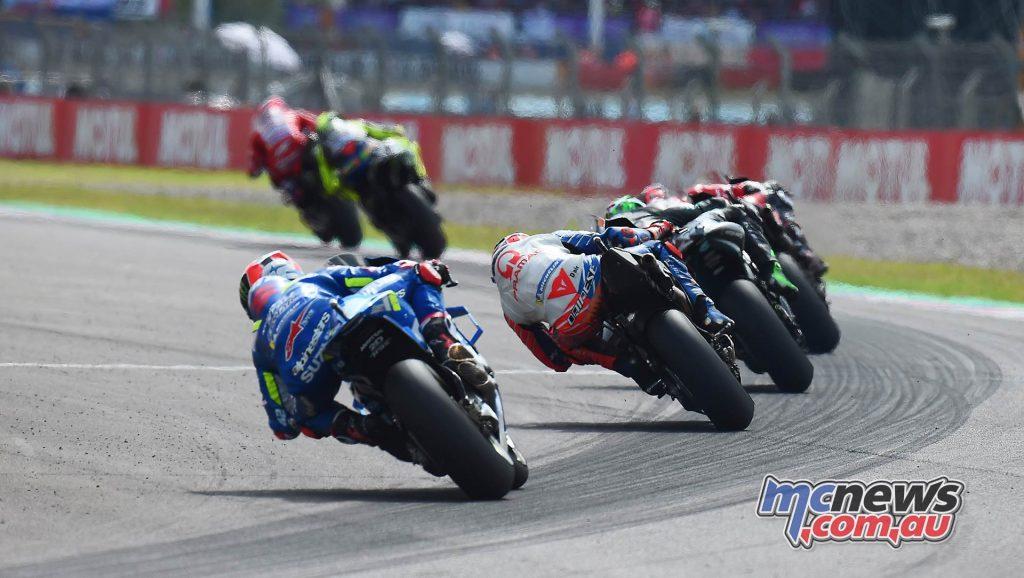 MotoGP Rnd Argentina Dovizioso Rossi Pack