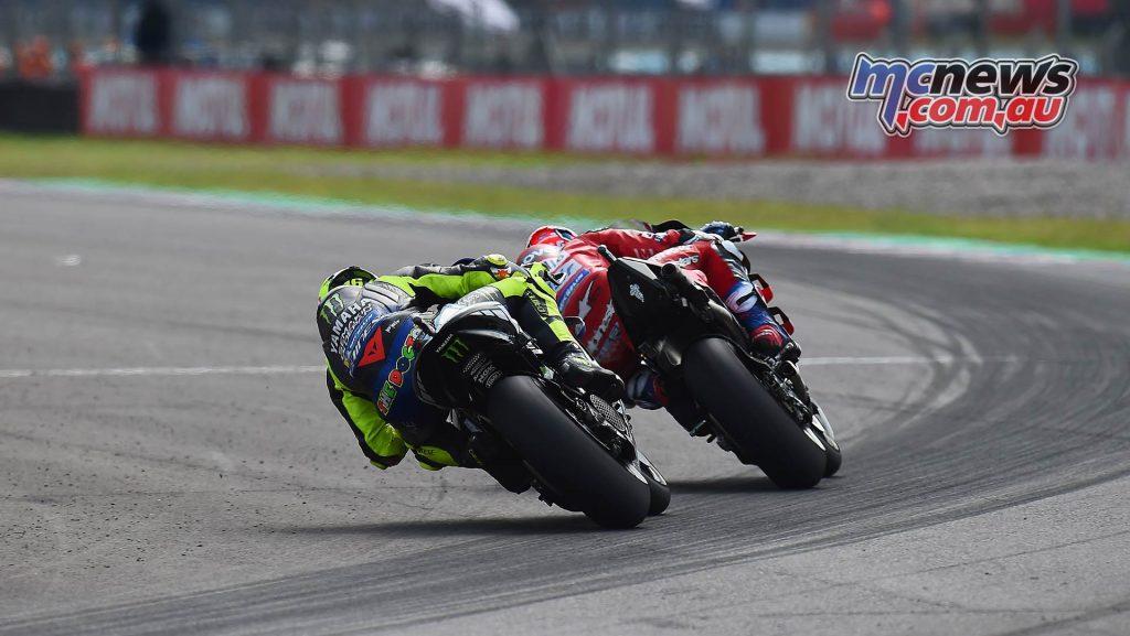 MotoGP Rnd Argentina Dovizoso Rossi