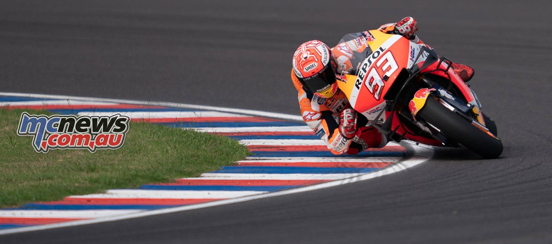 MotoGP Rnd Argentina Marc Marquez